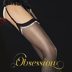 Mistery contrast band stockings