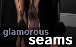 Seames stockings, tights and hold-ups