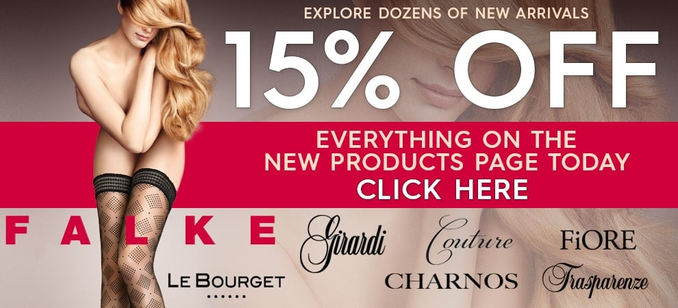 Save 15% off all new products today