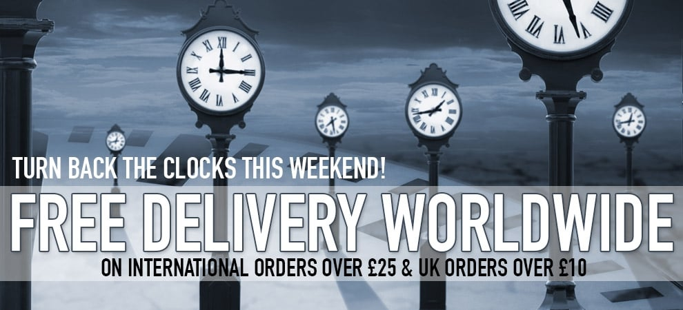 Free worldwide delivery this weekend