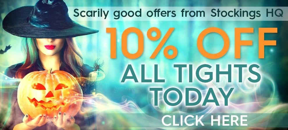 10% off all tights this weekend