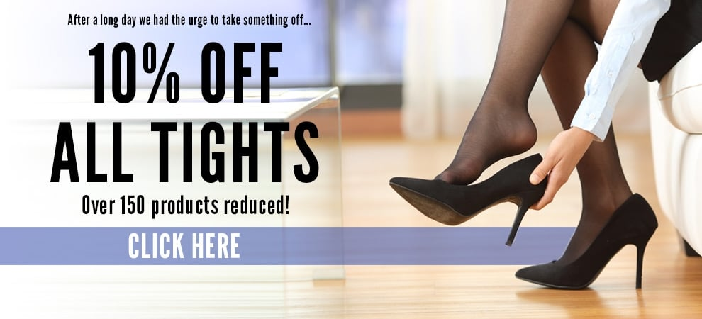 Save 10% off all tights today