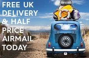 Free delivery today