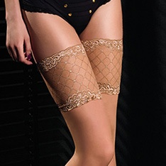 Black Edition Sensuel 02 deep lace hold-ups