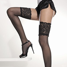 Night lace top stockings