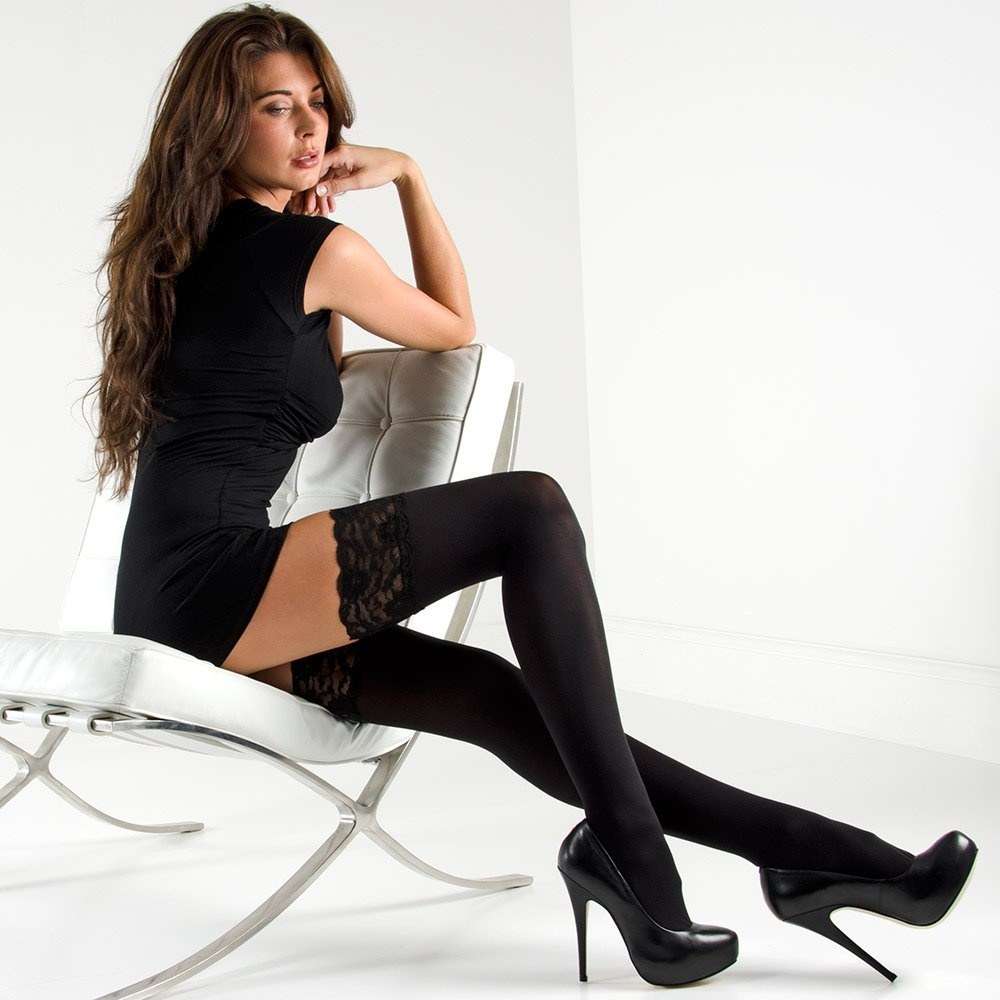 3f2278522 Nylonica Linea Classica Opaque 70 hold-ups at Stockings HQ - The UK ...
