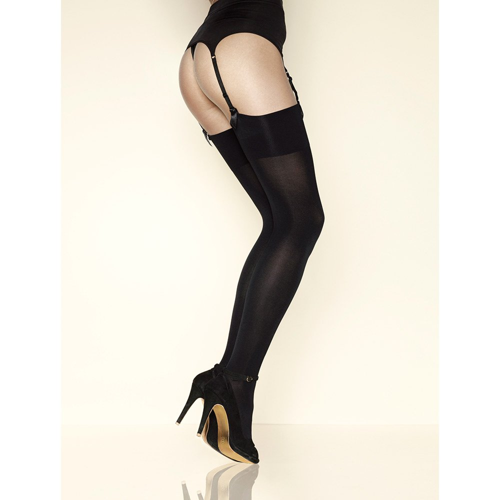Did you scroll all this way to get facts about opaque stockings? Well you're in luck, because here they come. Well you're in luck, because here they come. There are opaque stockings for sale on Etsy, and they cost $ on average.