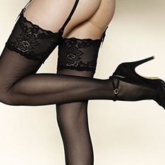 Passion 20 luxury lace top stockings