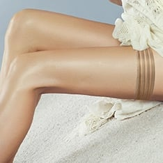 Perfectly Sheer tri-band hold-ups