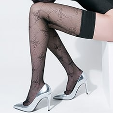 Pompei diamond pattern hold-ups