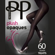Pretty Polly Premium Opaques 60D Plush tights - END OF LINE - SAVE 40%!