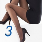 24-7 sheer tights - 3 pair pack