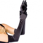 16B extra long stretch satin gloves