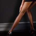 Classic backseam sheer tights