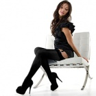 Linea Lusso Microfibre 55 opaque stockings - classic colours