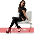 Linea Lusso Microfibre 55 stockings - PLUS SIZE - classic colours