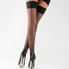 Linea Sensuale Seamed hold-ups