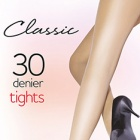 Classic 100% Nylon 30 denier tights