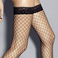 Rete Grandi large fishnet hold-ups