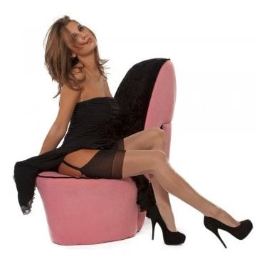 Eleganti RHT stockings - full contrast SEAMED  - PERFECTS