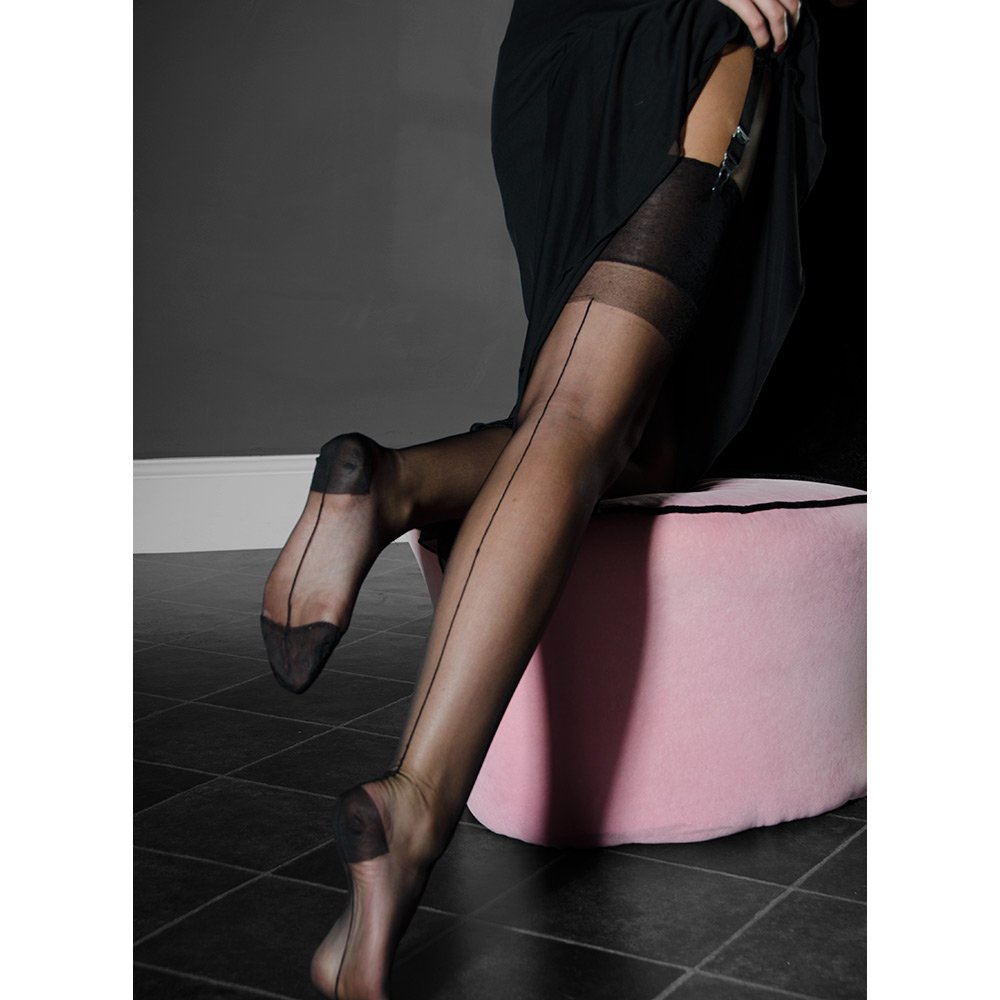 Nylons rht stockings high heels lg 8