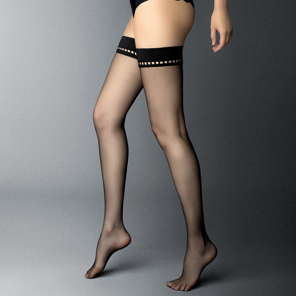 Veneziana Rita 8 denier ultra-sheer hold-ups