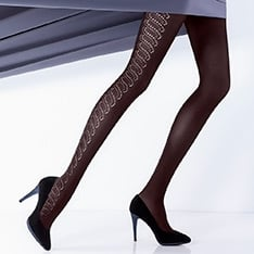 Rufina model 11 opaque tights