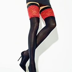 Secret contrast top hold-ups