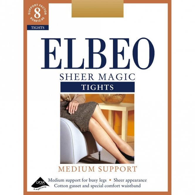 Elbeo Sheer Magic factor 8 medium support tights