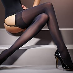 Suede Matt opaque stockings - NEW COLOUR