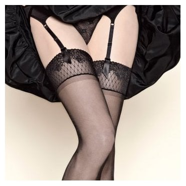 Gerbe Sunlight 15 lace top stockings