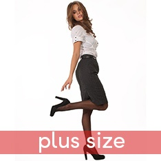 Super Shine XL Plus Size tights