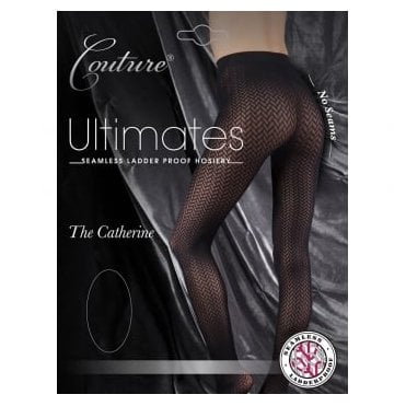 Couture Ultimates Catherine seamless ladder-proof tights
