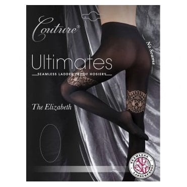 Couture Ultimates Elizabeth seamless ladder-proof tights