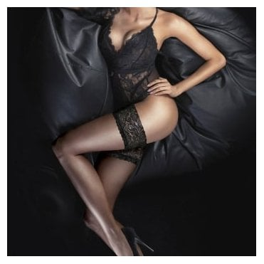 Couture Ultra Gloss lace top hold-ups