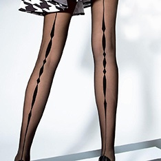 Valetta 20 denier backseam tights