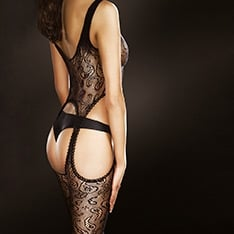 Venus fishnet lace bodystocking