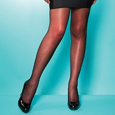XeLence 15 denier PLUS SIZE sheer tights