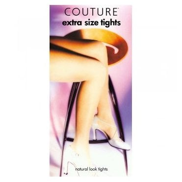 Couture XL plus size 100% nylon tights